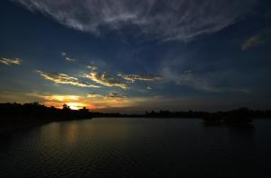 Manipal Lake Photo: Sandeep Kamath