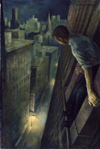 Painting by Stuyvesant Van Veen